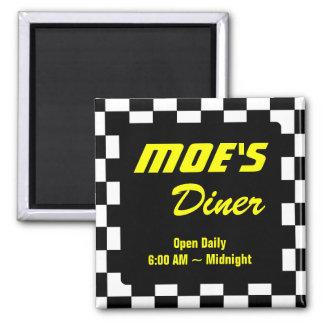 Moe's Diner Business Promotion Fridge Magnets