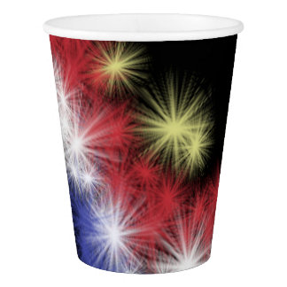 Moe's Fireworks Paper Cup