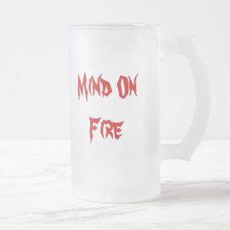 MOF Glass Frosted Glass Mug