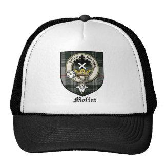 Moffat Clan Crest Badge Tartan Cap