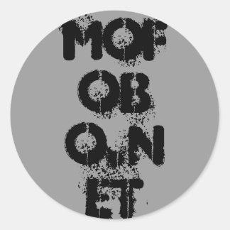 MoFoBo.NeT Round Sticker