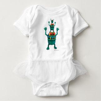 Mog, Moog & Mig Baby Bodysuit