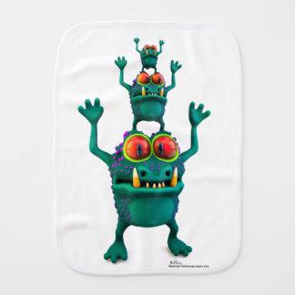 Mog, Moog & Mig Burp Cloth