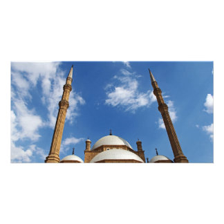 Mohamed Ali Mosque Customized Photo Card