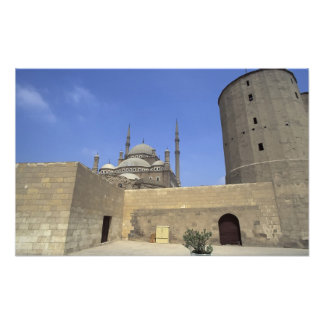 Mohammed Ali Mosque at the Citadel of Cairo, Photo Art