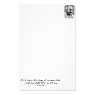 Mohandas Gandhi Personalised Stationery