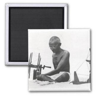 Mohandas Karamchand  Gandhi Square Magnet