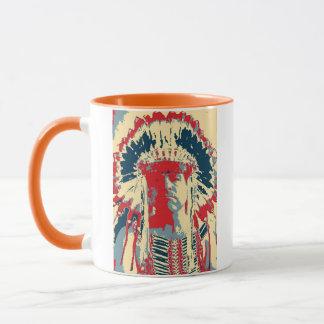 Mohawk Indian Mug