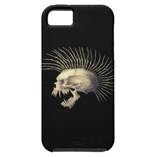 Mohawk Skull (The Exploited) Tough iPhone 5 Case