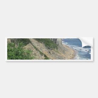 Mohegan Bluffs Block Island Bumper Sticker