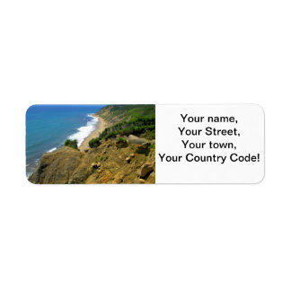 Mohegan Bluffs Corn Cove Return Address Label