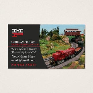 Mohegan Pequot Model Railroad Club Business Cards