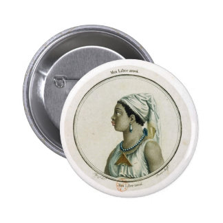 Moi libre aussi (Woman) 6 Cm Round Badge