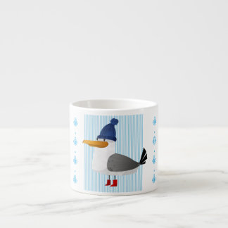"""""""Moin Moin"""" Seagull Espresso Cup"""