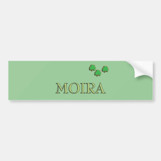 Moira Irish Girl Bumper Sticker
