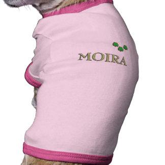 Moira Irish Girl Pet Shirt
