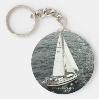 Moira Under Sail Basic Round Button Key Ring