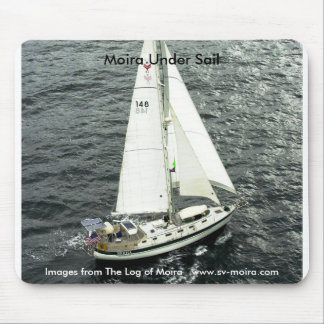 Moira Under Sail Mouse Pad