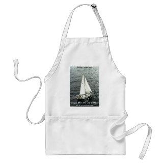Moira Under Sail Standard Apron