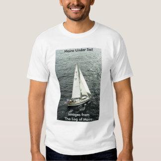 Moira under sail tee shirts