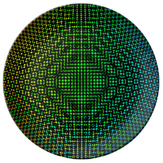 Moire Checkers by Kenneth Yoncich Plate