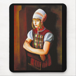 Moïse Kisling, the Dutch daughter Mouse Pad