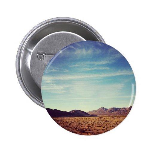 Mojave Desert Pinback Buttons
