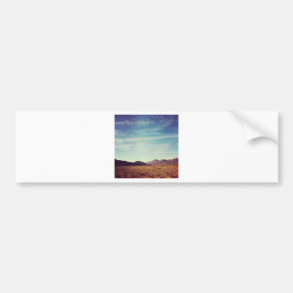 Mojave Desert Bumper Sticker