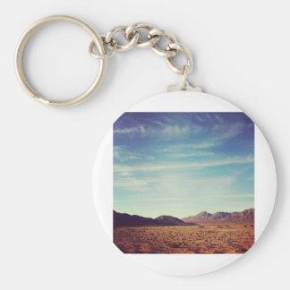 Mojave Desert Keychain
