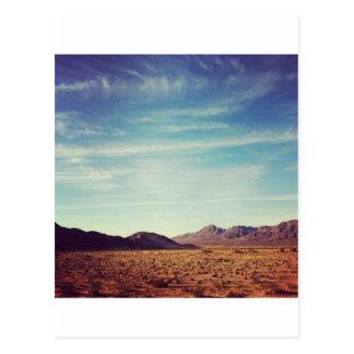 Mojave Desert Postcard