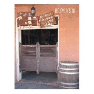 Mojave Desert - Postcard! Postcard