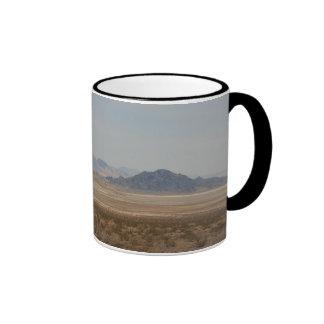 Mojave desert ringer mug