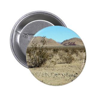 Mojave Desert scene 02 Pinback Buttons