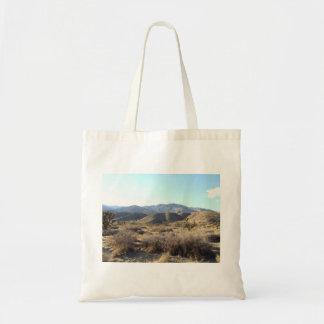 Mojave Desert scene 05 Budget Tote Bag