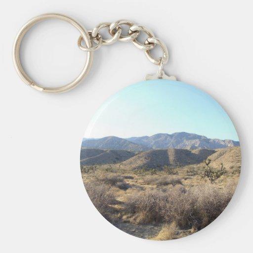 Mojave Desert scene 05 Keychains