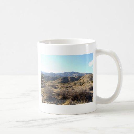 Mojave Desert scene 05 Coffee Mugs