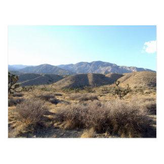 Mojave Desert scene 05 Postcard