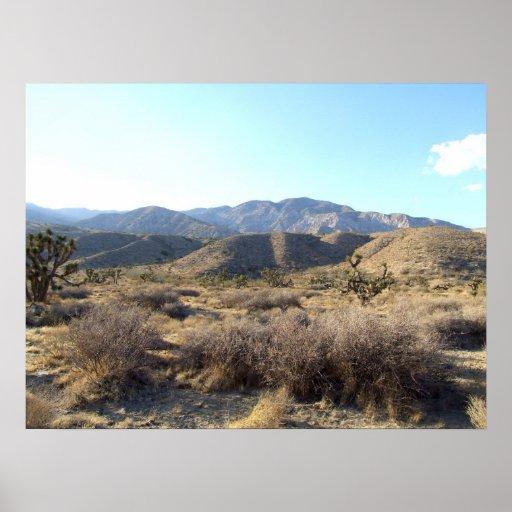 Mojave Desert scene 05 Print