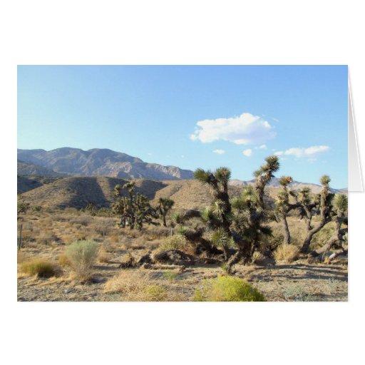 Mojave Desert scene 06 Greeting Cards