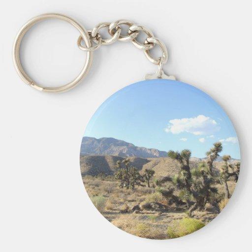 Mojave Desert scene 06 Keychains