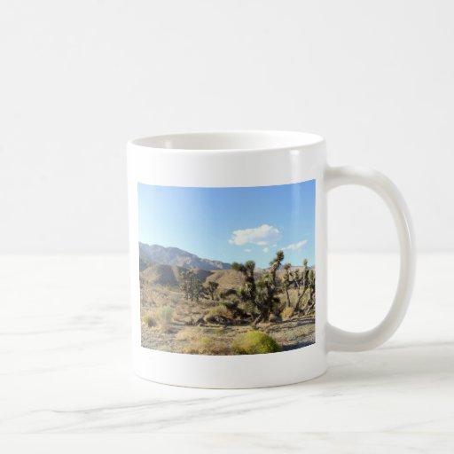 Mojave Desert scene 06 Coffee Mugs