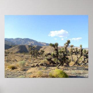 Mojave Desert scene 06 Posters
