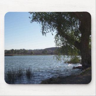 Mojave Narrows Lake Mouse Pad