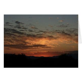 Mojave sunset cards