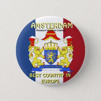 Mojisola A Gbadamosi Amsterdam vacations photgraph 6 Cm Round Badge