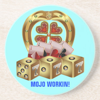 Mojo Fast Luck Beverage Coaster