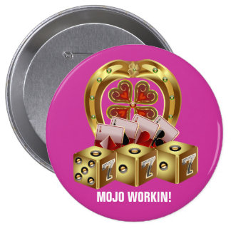 Mojo Fast Luck Mojo Workin Pins