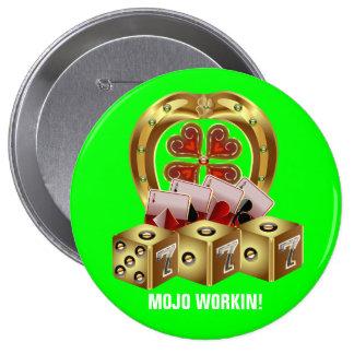 Mojo Fast Luck Mojo Workin Button