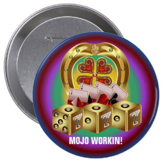 Mojo Fast Luck Mojo Workin Pin