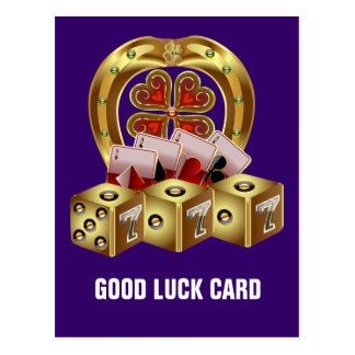 Mojo Fast Luck  Mojo Workin! Postcard